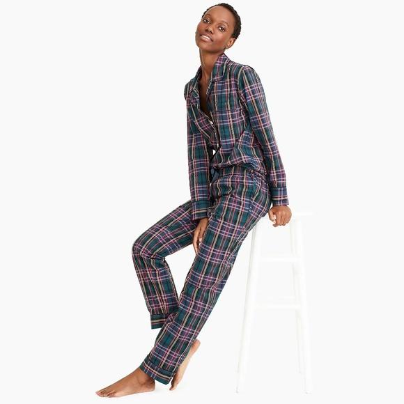 J. Crew Other - J. Crew Vintage Pajama Set in Signature Tartan